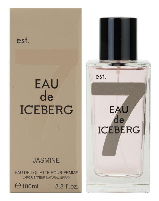 Iceberg Eau de Jasmine toaletní voda pro ženy 100 ml