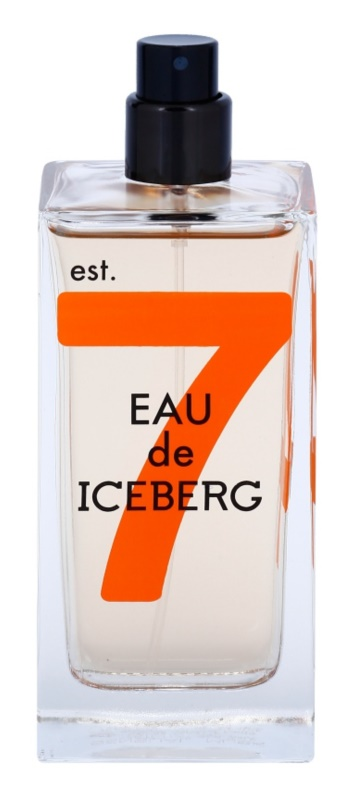 Iceberg Eau de Iceberg Sensual Musk toaletná voda tester pre ženy 100 ml