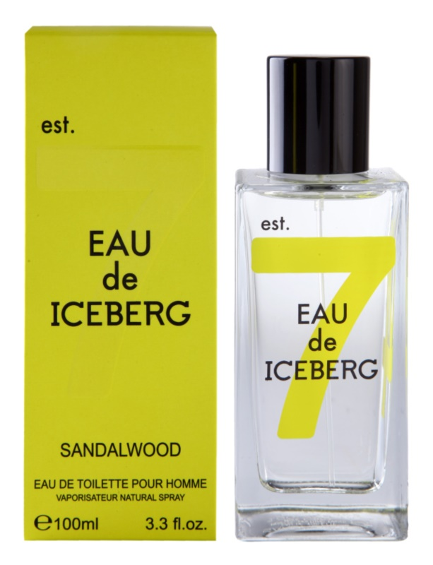 Iceberg Eau de Iceberg Sandalwood eau de toilette para hombre 100 ml