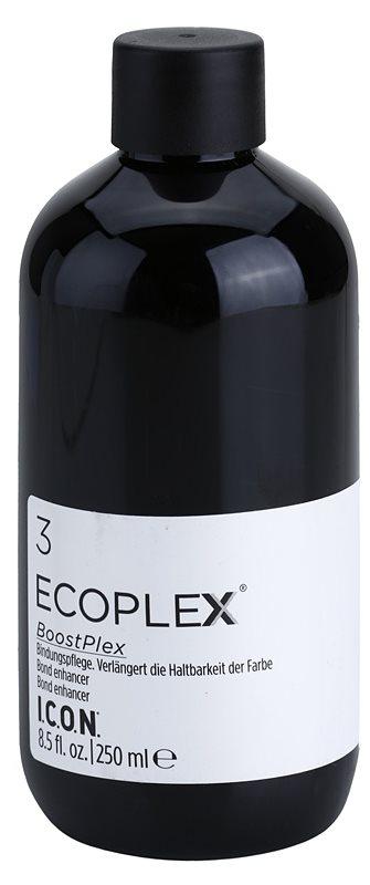 Icon Ecoplex BoostPlex 3 behandelnde Pflege zur Verlängerung der Haltbarkeit der Haarfarbe