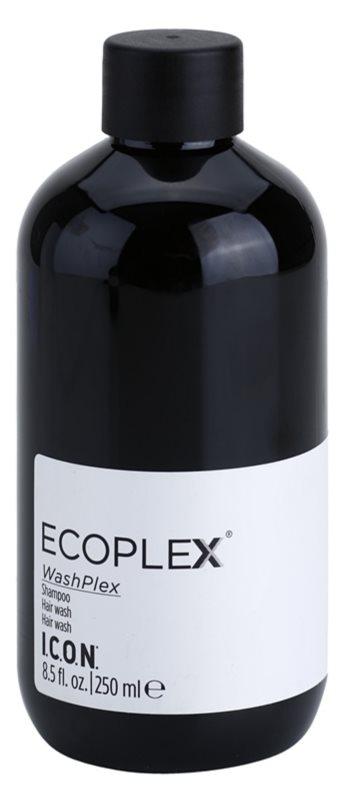 Icon  Ecoplex WashPlex ápoló sampon festett és töredezett hajra