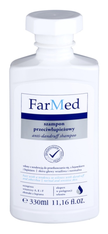 Ideepharm FarMed shampoo contro la forfora grassa