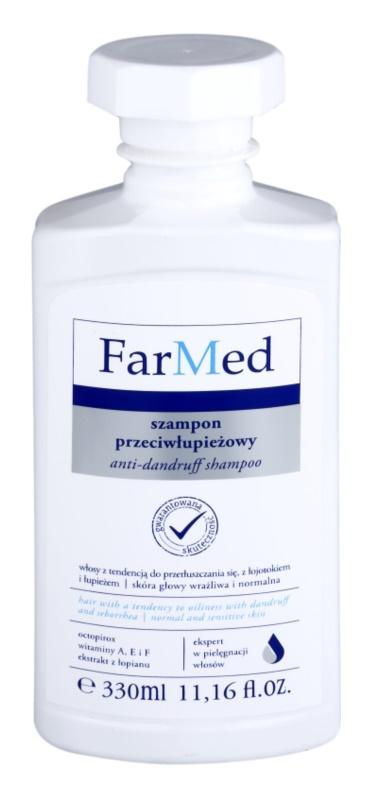 Ideepharm FarMed szampon przeciw tłustemu łupieżowi