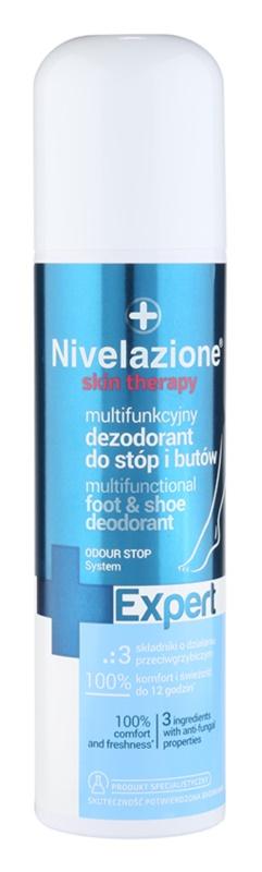 Ideepharm Nivelazione Expert deodorant ve spreji na nohy a do bot