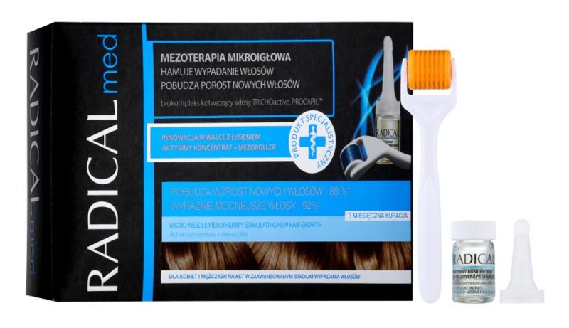 Ideepharm Radical Med mesoterapia com microagulhas para estimular o crescimento do cabelo para homens