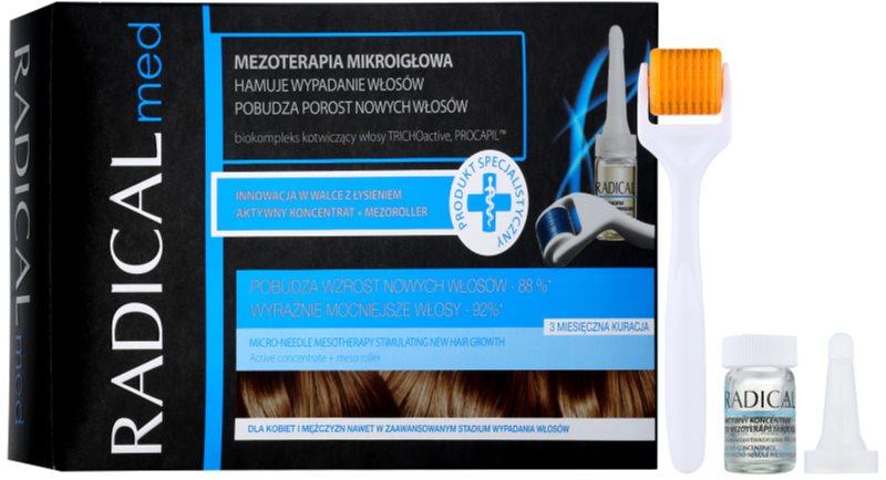 Ideepharm Radical Med mikroihličková mezoterapia stimulujúca rast nových vlasov pre mužov