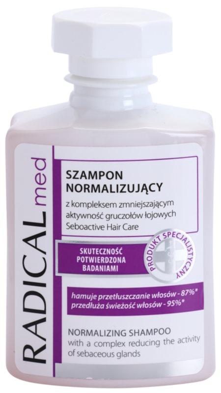 Ideepharm Radical Med Normalize šampón pre mastné vlasy a vlasovú pokožku