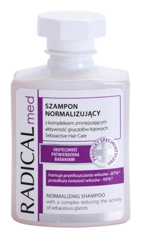 Ideepharm Radical Med Normalize šampon za mastne lase in lasišče