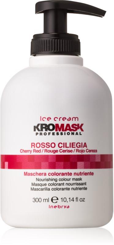 Inebrya Ice Cream KroMask vyživující tónovací maska pro barvené a melírované vlasy
