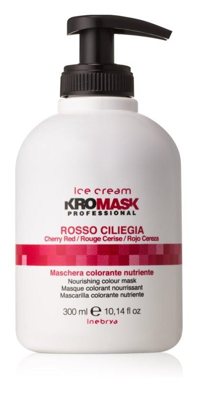 Inebrya Ice Cream KroMask vyživujúca tónovacia maska pre farbené a melírované vlasy