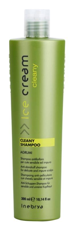 Inebrya Cleany шампунь проти лупи для чутливої шкіри голови