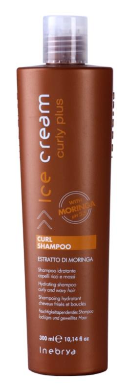 Inebrya Curly Plus shampoo idratante per capelli mossi