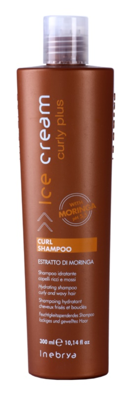 Inebrya Curly Plus vlažilni šampon za valovite lase