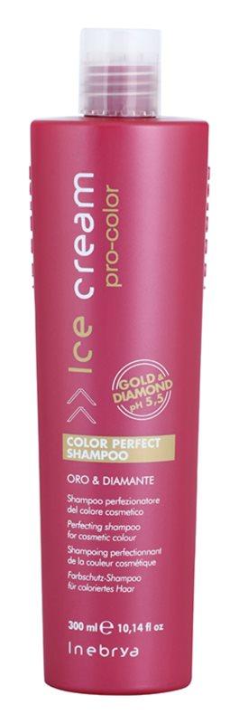 Inebrya Ice Cream Pro-Color sampon festett hajra
