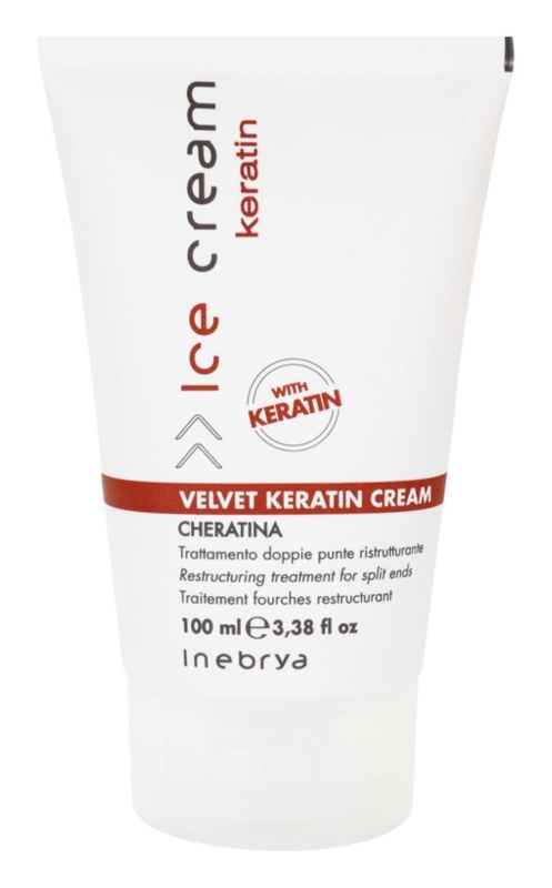 Inebrya Keratin Restructuring Hair Cream For Split Hair Ends