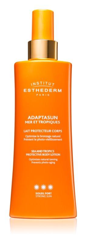 Institut Esthederm Adaptasun lait protecteur solaire haute protection solaire