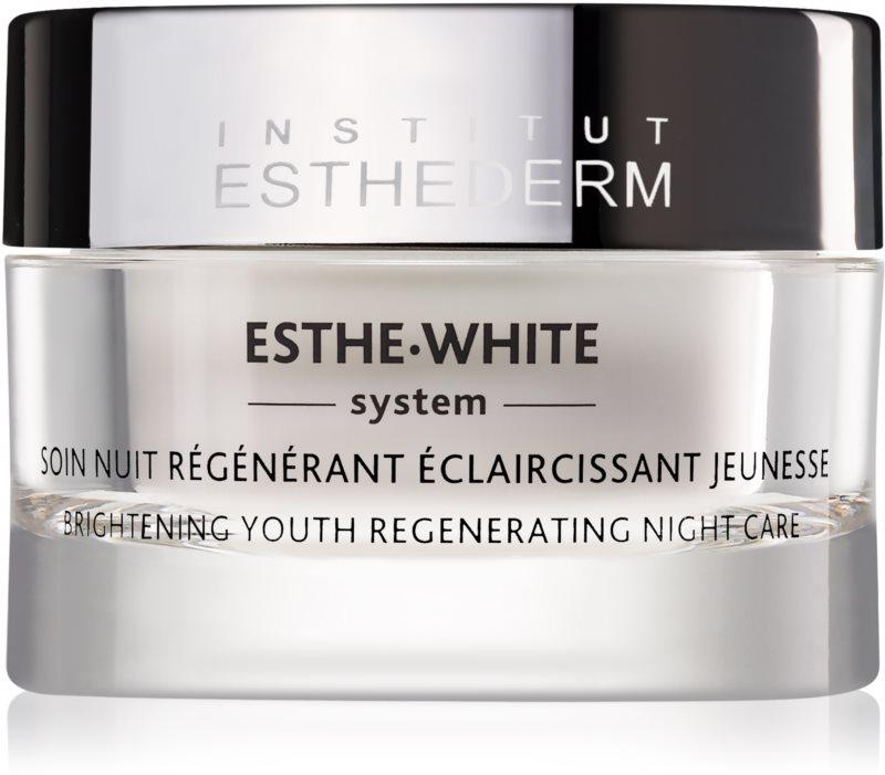 Institut Esthederm Esthe White nočna belilna krema z regeneracijskim učinkom