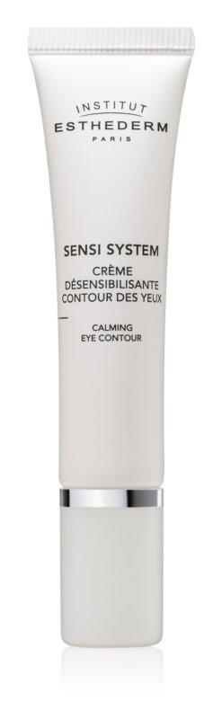 Institut Esthederm Sensi System pomirjujoča krema za predel okoli oči