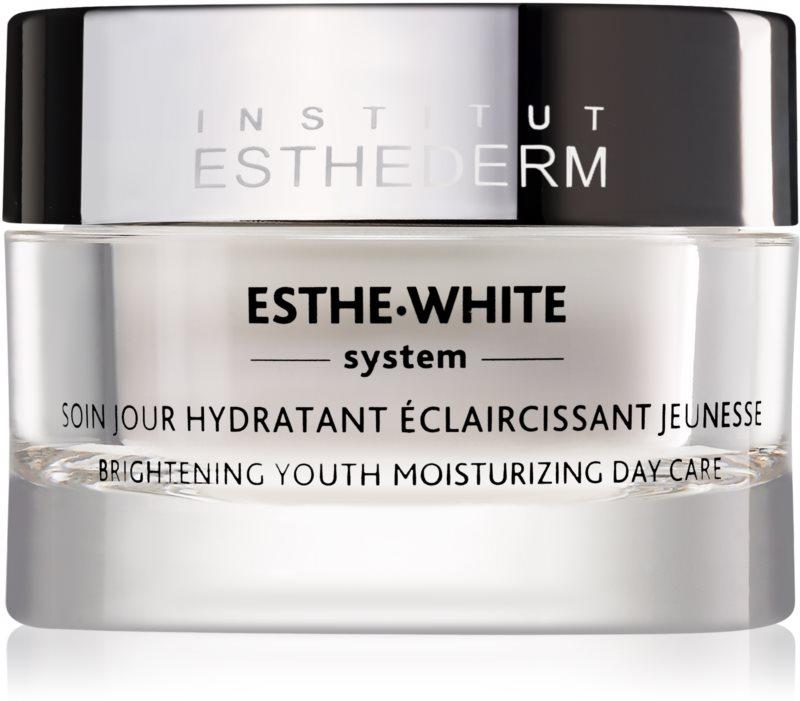 Institut Esthederm Esthe White omlazující denní péče pro rozjasnění a hydrataci pleti