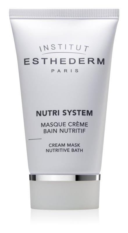Institut Esthederm Nutri System výživná krémová maska s omlazujícím účinkem