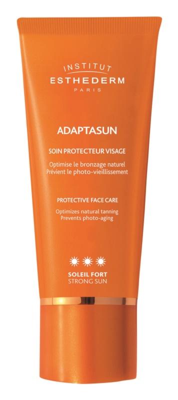 Institut Esthederm Adaptasun Zonnebrandcrème voor Gezicht  met Hoge UV Bescherming