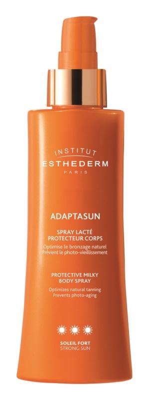 Institut Esthederm Adaptasun  schützende Sonnenmilch im Spray hoher UV-Schutz