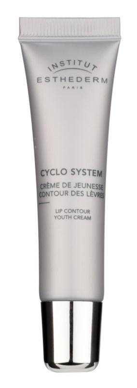 Institut Esthederm Cyclo System verjüngende Creme für die Lippenkonturen