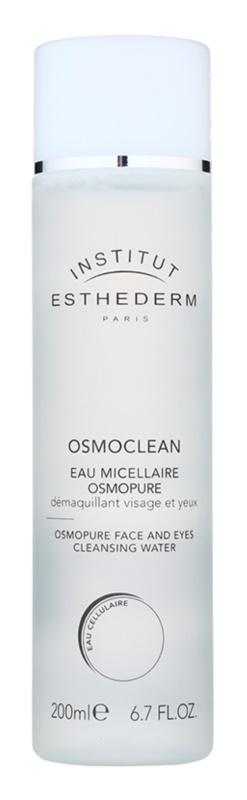 Institut Esthederm Osmoclean agua micelar limpiadora para rostro y ojos
