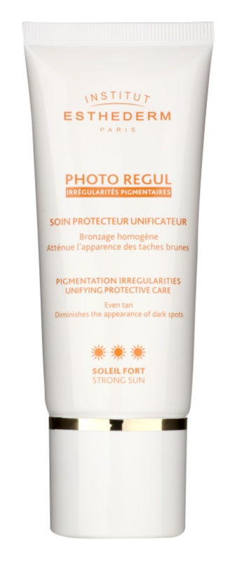 Institut Esthederm Photo Regul harmonisierende Pflege für hyperpigmentierte Haut hoher UV-Schutz