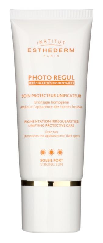 Institut Esthederm Photo Regul tratamento unificador para domar o cabelo rebelde com alta proteção UV