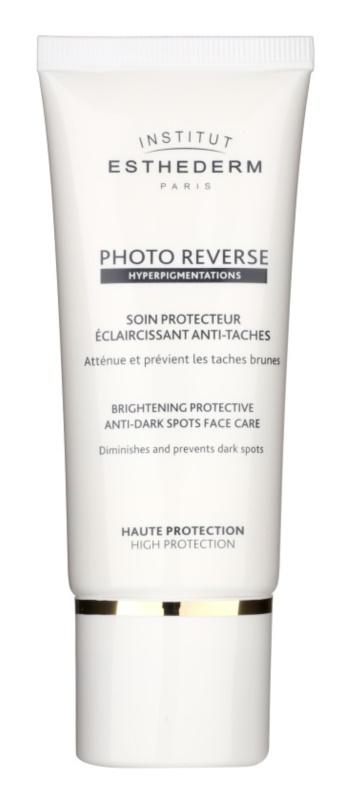 Institut Esthederm Photo Reverse rozjasňující ochranná péče proti pigmentovým skvrnám s vysokou UV ochranou