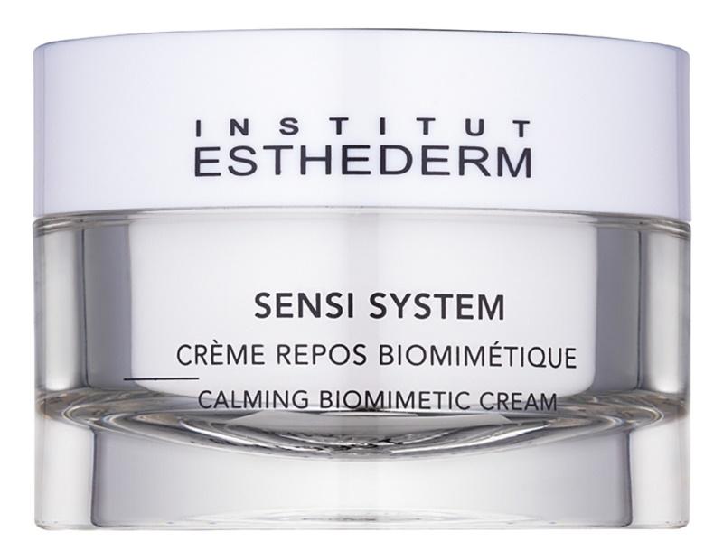 Institut Esthederm Sensi System beruhigende biomimetische Creme  für empflindliche Haut