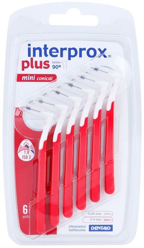 Interprox Plus 90° Mini Conical stożkowe szczoteczki międzyzębowe 6 szt.