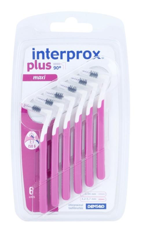 Interprox Plus 90° Maxi cepillos interdentales 6 uds