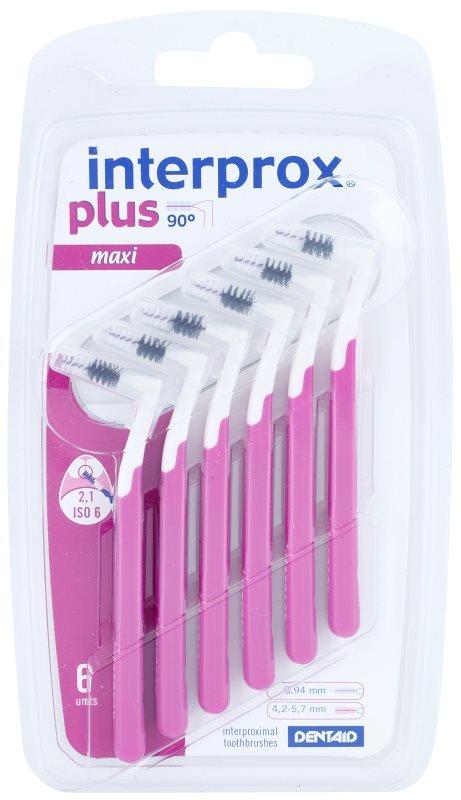 Interprox Plus 90° Maxi szczoteczki międzyzębowe 6 szt.