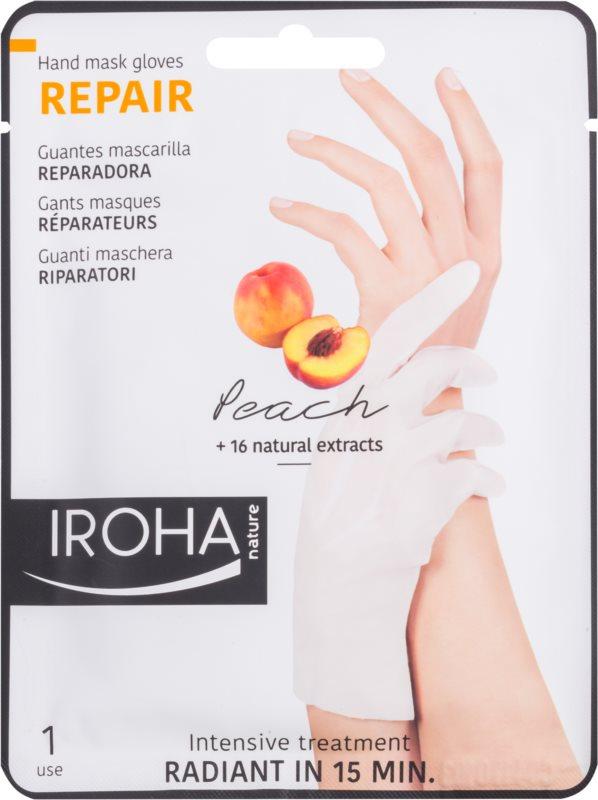 Iroha Repair Peach маска для рук та нігтів