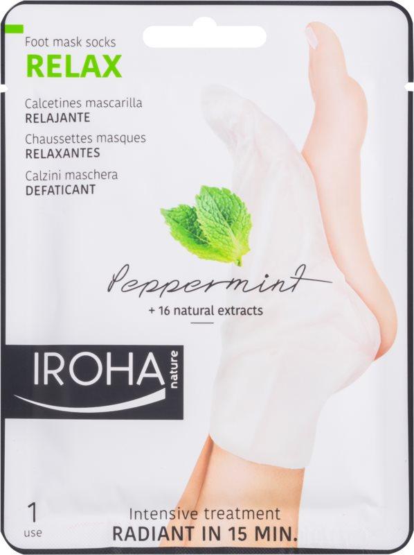 Iroha Relax erfrischende Maske für Füssen