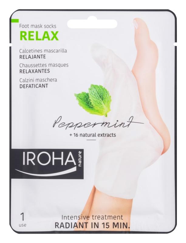 Iroha Relax osvežilna maska za noge