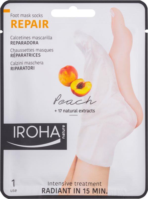 Iroha Repair Peach maska na nohy