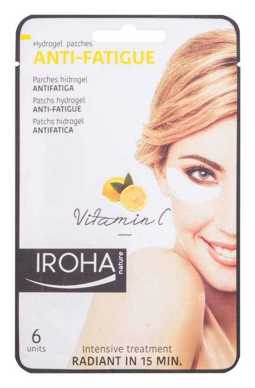 Iroha Anti - Fatigue Vitamin C hydrogélová maska na očné okolie