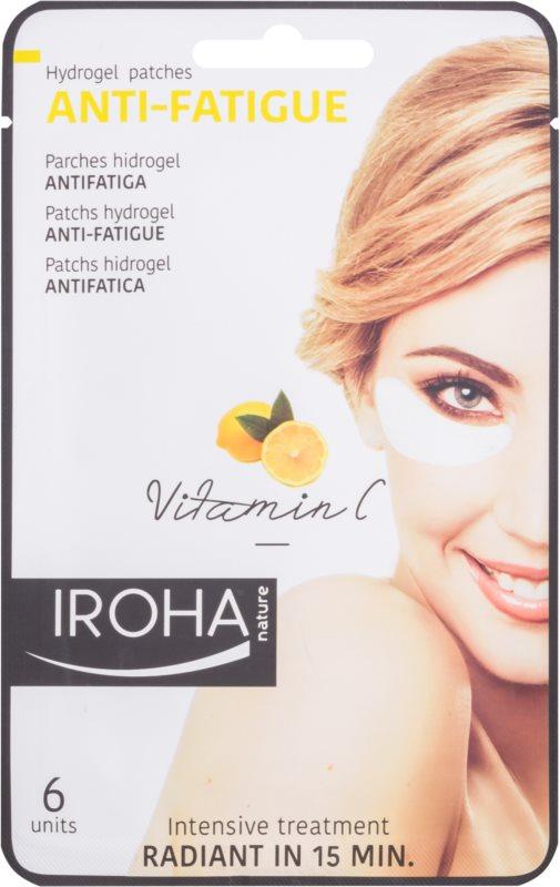 Iroha Anti - Fatigue Vitamin C hydrogelová maska na oční okolí