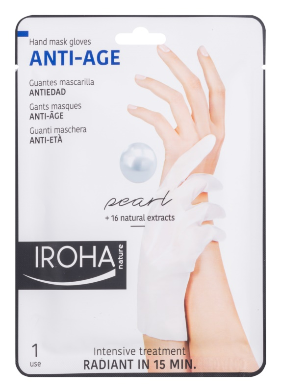 Iroha Anti - Age Pearl Rejuvenating Mask For Hands