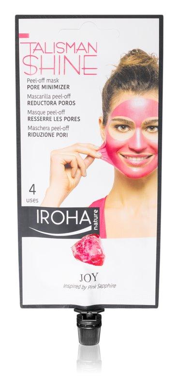 Iroha Talisman Shine Joy luščilna maska za glajenje kože in zmanjšanje por