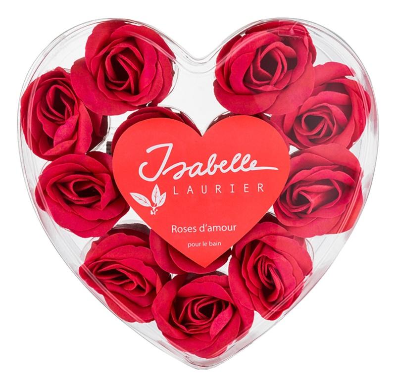 Isabelle Laurier Roses jabón de baño en forma de rosas