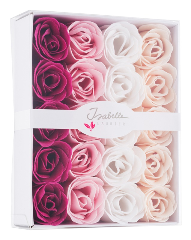 Isabelle Laurier Soap Confetti Roses Seifenrosen für das Wannenbad