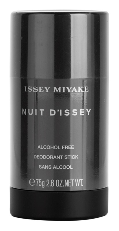 Issey Miyake Nuit D'Issey Deodorant Stick for Men 75 g (Alcohol Free)