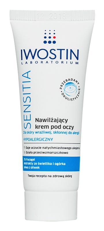 Iwostin Sensitia crème hydratante yeux pour peaux sensibles