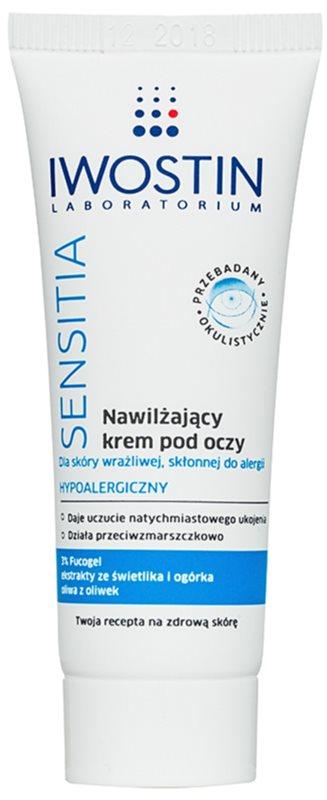 Iwostin Sensitia hydratačný očný krém pre citlivú pleť