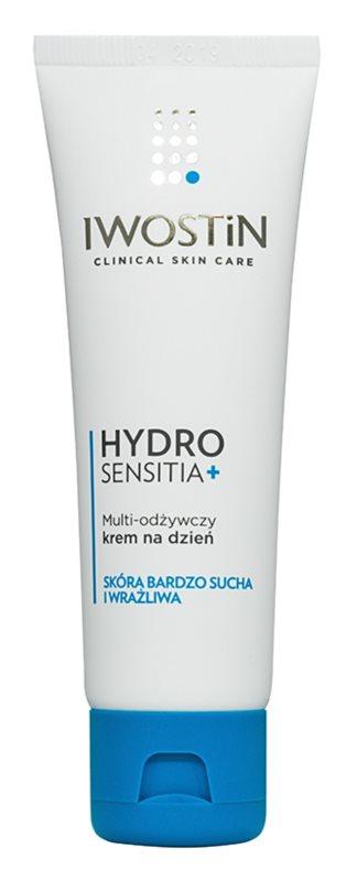 Iwostin Sensitia Hydro Sensitia + crème de jour nourrissante pour peaux sèches et sensibles