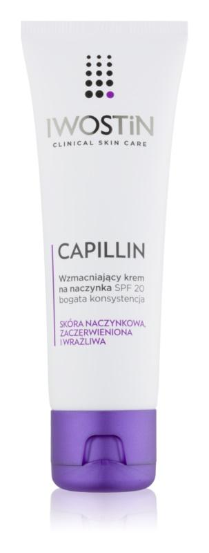 Iwostin Capillin posilující krém na popraskané žilky SPF 20